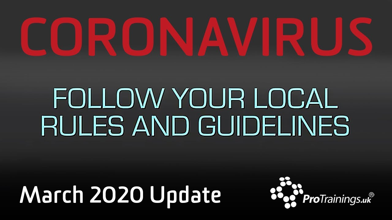 Download Coronavirus Update March 2020: A Developing Situation