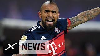 Bayern-Schock: Saisonaus für Arturo Vidal!   FC Bayern München   SPOX