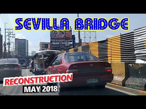Sevilla Bridge Rehabilitation Update 4 🚗 Sta Mesa, Manila to Chino Roces Ave., Makati 🚗 City Tour