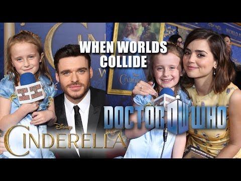 Doctor Who Star Surprises Lindalee at Cinderella Premiere