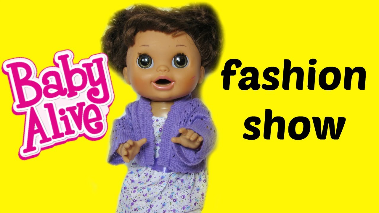 Fashion Show Baby Alive Real Surprises Doll With You Amp Me