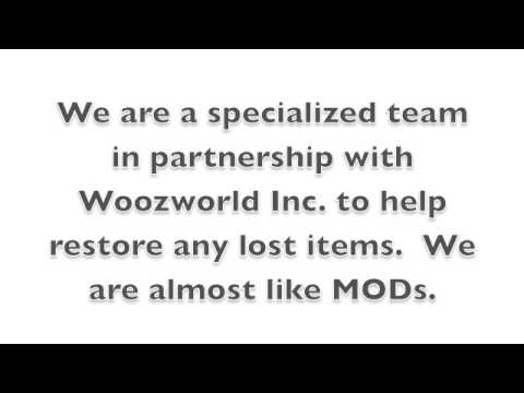 Woozworld Helpers 2013: Restore Lost Items