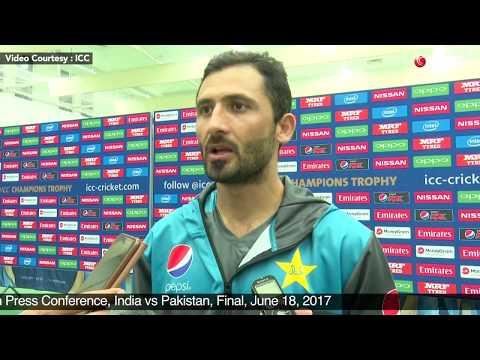 Junaid Khan Post Match Press Conference, India vs Pakistan, Final, June 18, 2017