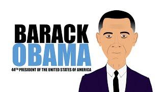 Le président Barack Obama pour les Enfants de dessin animé! Dessins animés éducatifs pour les Élèves (Barack Obama)