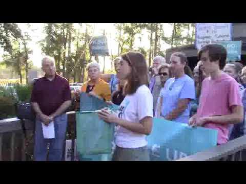 384,000 signatures against Nestle permit --Allison Guy, SumofUs