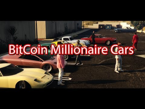 BitCoin Millionaire cars @ North American Bitcoin conference Miami 2018