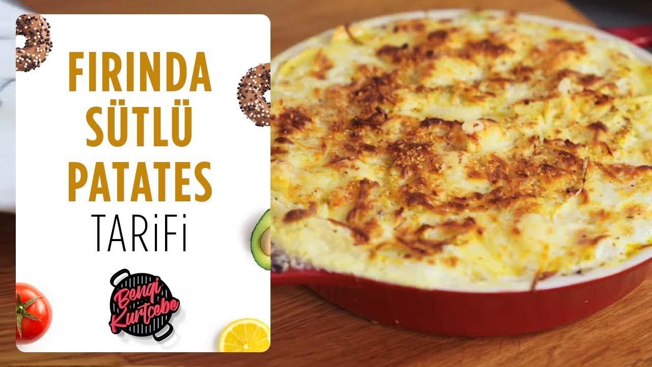 Fırında Sütlü Patates Tarifi   Nefis Yemek Tarifleri