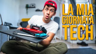 la mia daily ROUTINE TECH!