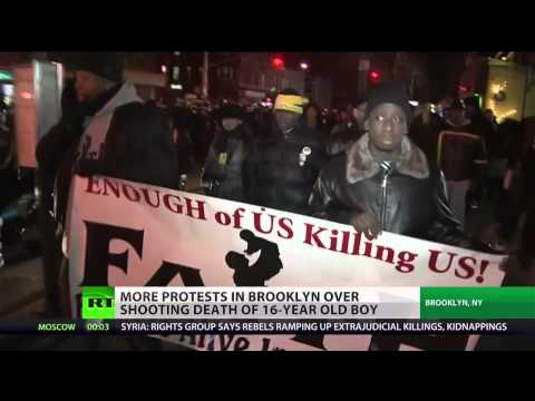Week of protests after Kimani Gray shooting