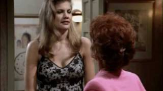 Funny punch out scene in th washroom between two ladies - Catfight