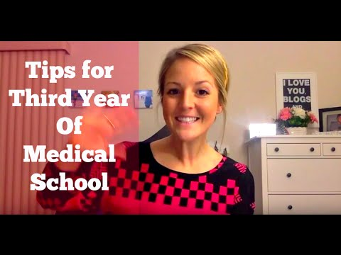Tips For Success In Third Year Of Medical School
