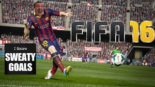 FIFA 16 PS4 GAMEPLAY SWEATY GOALS COLLECTION