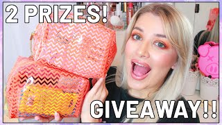 HUGE MAKEUP GIVEAWAY!!! WE HIT 8K SUBSCRIBERS!! (OPEN AND INTERNATIONAL 2019) | Luce Stephenson