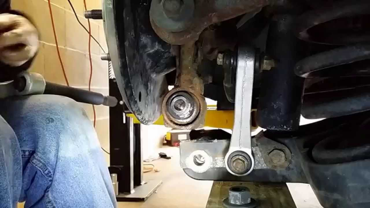 A Frame Ball Joint Removal 99 Cadillac Deville Rear