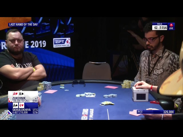 EPT Prague 2019 Main Event - Day 3 (Cards up!) - Part 1