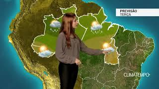 Previsão Norte - Pancadas com raios continuam