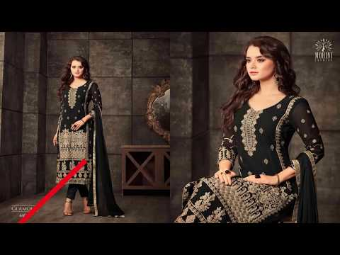 Latest Indian Dresses Collections 2018 || Mohini Fashion  || Glamour 44 44001-44006 series