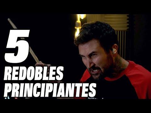 5 REDOBLES PARA PRINCIPIANTES