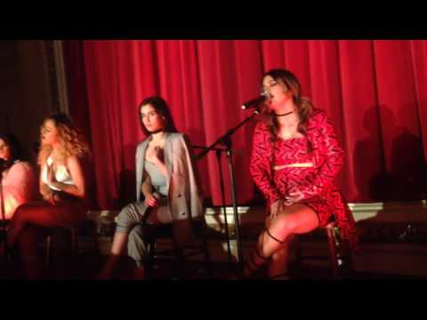 Fifth Harmony - Write On Me (live @ Release Party 7/27, London)