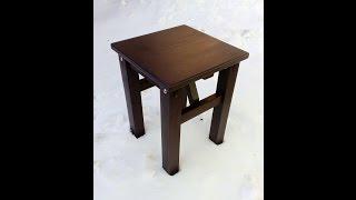 Простая табуретка своими руками, stool DIY
