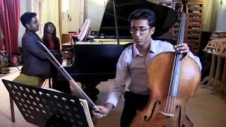 Danushka Edirisinghe & Avishka Edirisinghe :: Frank  Bridge cello sonata, first movt