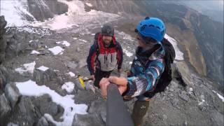 Mont Blanc climbing. Gouter Route. 2-6 Aug 2015.