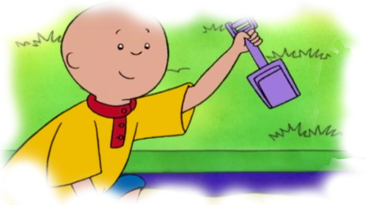 Caillou English Full Episodes  Caillous Scavenger Hunt -2351
