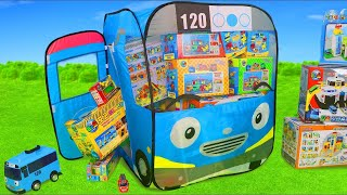 Tayo Bus Toys: Fire Truck, Police Cars, Trains &amp Excavator Toy Vehicles Surprise for Kids