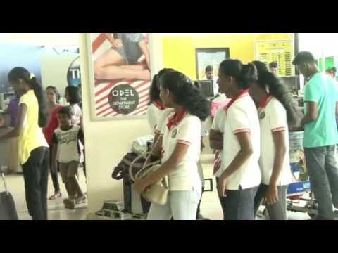 Sri Lanka School Athletic Team  24.09.2013