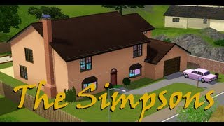 Construindo a Casa dos Simpsons no The Sims 3