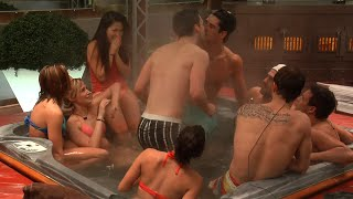 Kevin Kisses Johnny and Zach in Spin The Bottle | Big Brother Canada 3