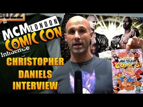 Christopher Daniels Interview // MCM London Comic Con: May 2014