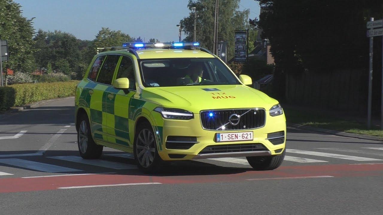 NIEUWE Volvo XC90 MUG AZ Sint Jozef Malle + Ambulance AZ Sint Jozef Malle - YouTube
