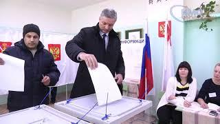 Андрей Луценко проголосовал в школе № 40