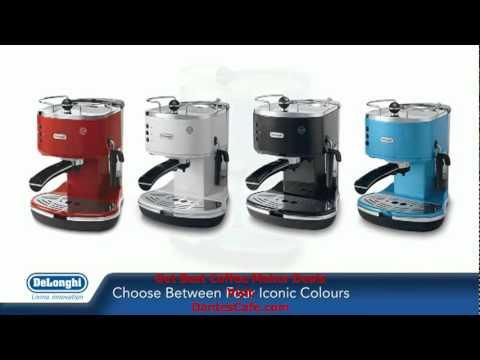 Delonghi Icona Pump Coffee Machine Eco310 Blue Black White