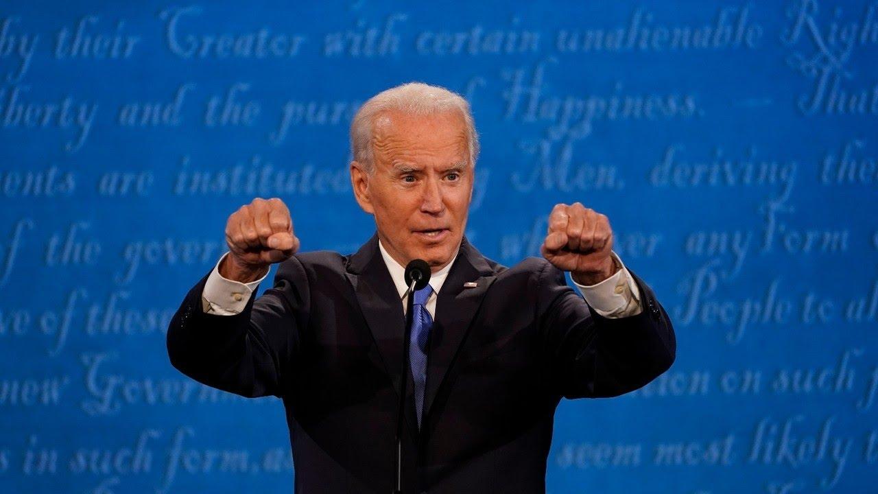 Joe Biden looked 'mentally weary' after 70 minutes of the debate