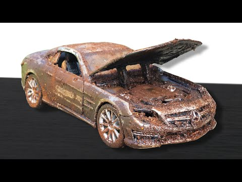 Restoration Abandoned Mercedes - Benz SL65 AMG Model Car