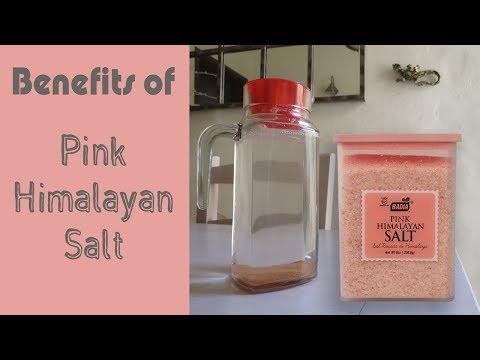 Benefits of Pink Himalayan Salt & Symptoms of Low Sodium