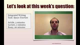 TOEFL Review Wednesdays: How to avoid common pitfalls with integrated writing