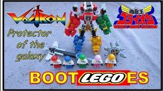 VOLTRON LEGO Bootleg Robot & Pilot Mini figures   VOLTROS BOOTLEGO   GOLION   百獣王ゴライオン