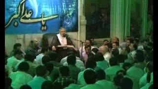 شب ششم ماه رمضان 1390 مسجد ارک - قسمت دوم ║ حاج منصور ارضی