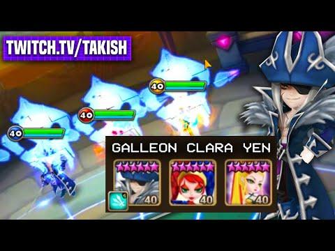 GALLEON CLARA YEN? New G3 Guild Siege Meta Inc?! - Takish Twitch Stream