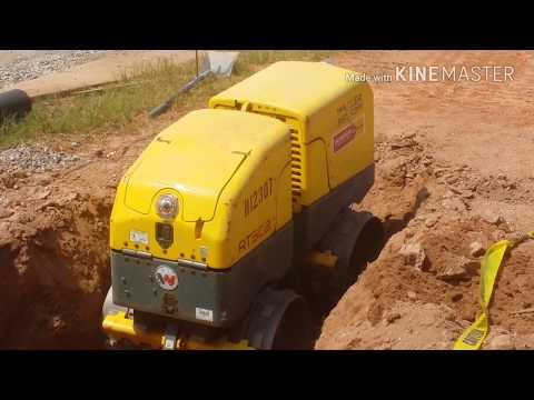 HOW TO OPERATE A SOIL COMPACTOR  (WACKER NEUSON) TRENCH COMPACTOR