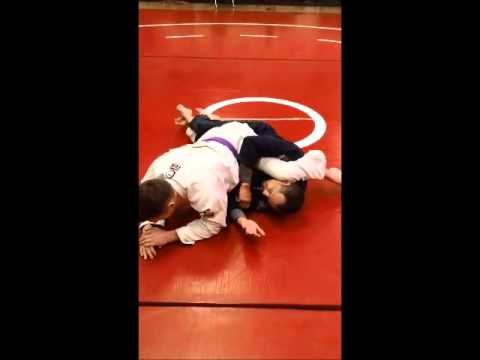 10c Half Guard Sweep Lockdown to Electric Chair to Sweep & 10c Half Guard Sweep Lockdown to Electric Chair to Sweep - YouTube