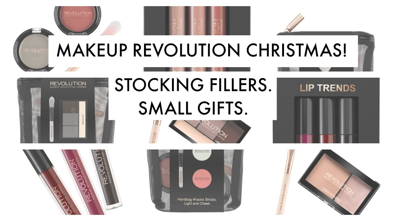 makeup revolution christmas stocking fillers small gifts youtube