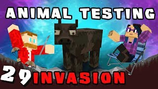 Minecraft: Invasion - #29 - Animal Testing (Modded Minecraft)
