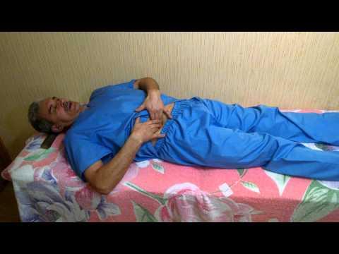 Доктор Вежнин М.А.делится со своим опытом. Часть 4. Обдавливание органов малого таза.