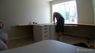 Built In Desk - Time-lapse