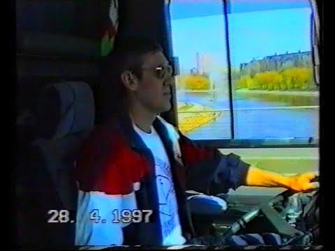 virtograd: У руля  автобуса ФК «Николаев» Владимир Куценко (Палыч), клип посвящается команде А. Заяева 1997/98