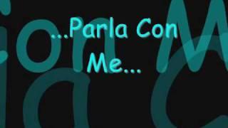 Parla con me-Eros Ramazzotti(testo)